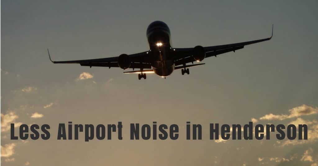 New FAA System May Mean Less Noise at Henderson Airport