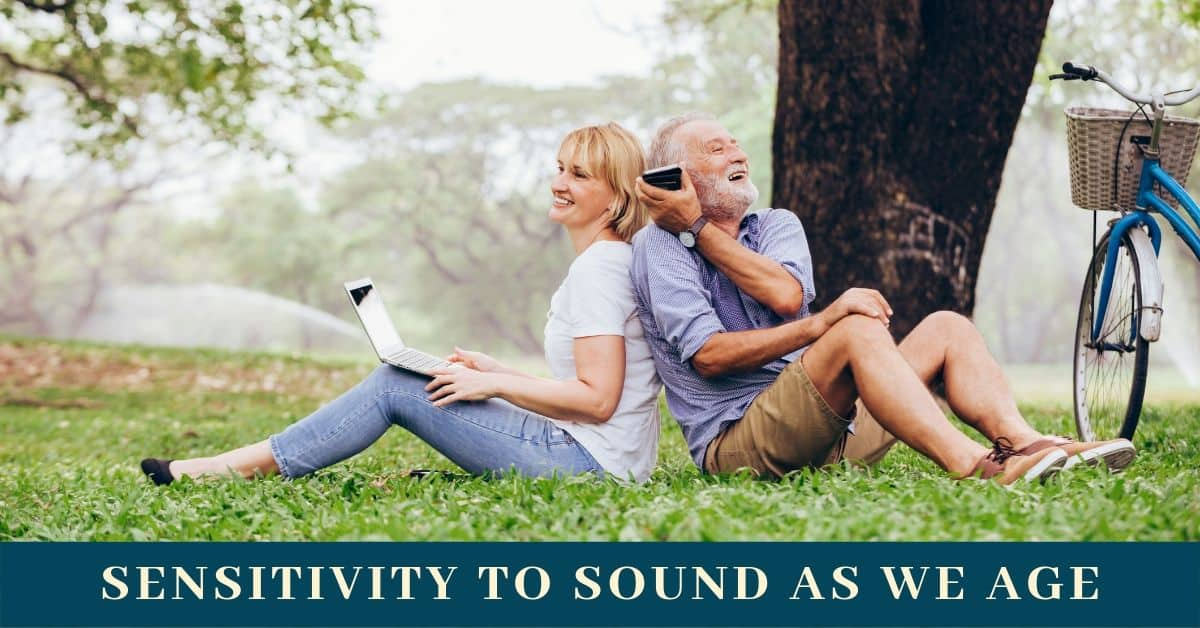 Sensitivity to Noise as We Age